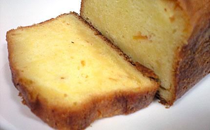 パウンドケーキ(オレンジ風味)